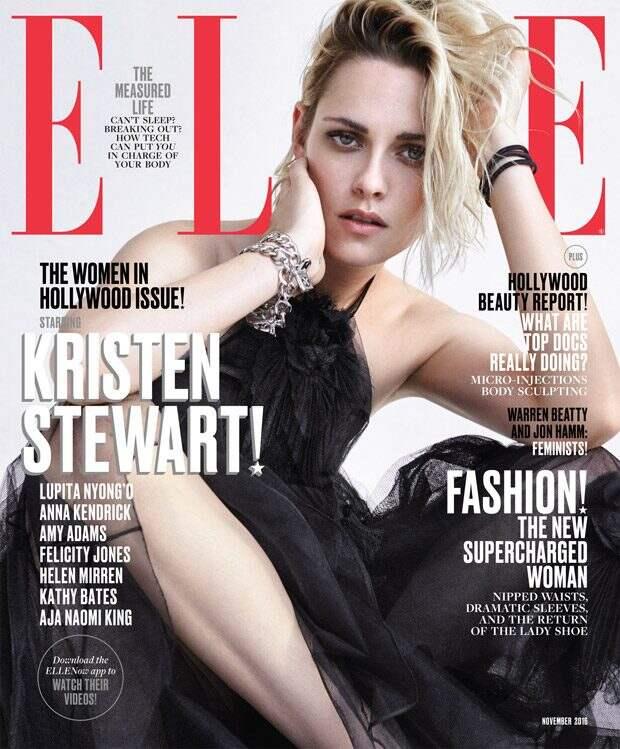 Актрисы на обложке Elle Magazine