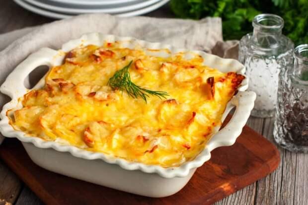 Картофель по-французски с сырной корочкой. Кулинарный шедевр из простых продуктов 1