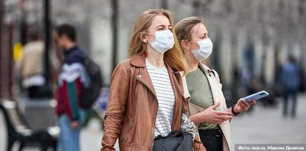 В торговых центрах на западе Москвы за день выявили 64 «безмасочника». Фото: М. Денисов mos.ru