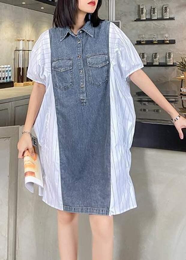 идеи что сшить платье джинсовое