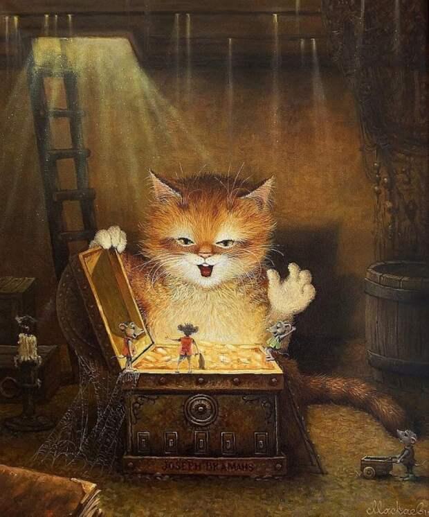 художник Александр Маскаев картины – 21