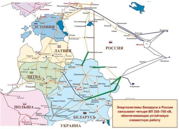 В СО ЕЭС прокомментировали взятие Литвой под свой контроль энергоперемычек с Белоруссией