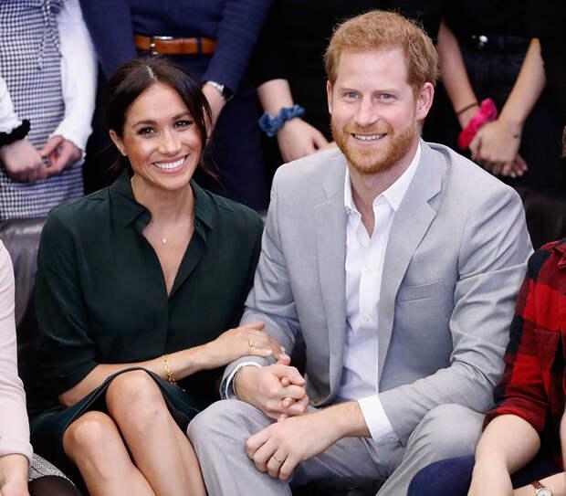 Принцесса Евгения, принц Уильям и Кейт Миддлтон поздравили Гарри и Меган Маркл с рождением дочери