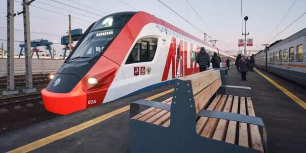 Бочкарев: Около 150 тыс человек в день будут пользоваться станцией «Ржевская» МЦД-2 после реконструкции. Фото: Е. Самарин mos.ru