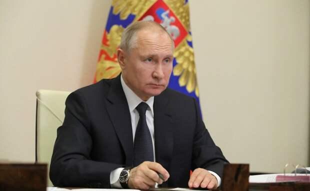 Встреча Путина с главами фракций Госдумы