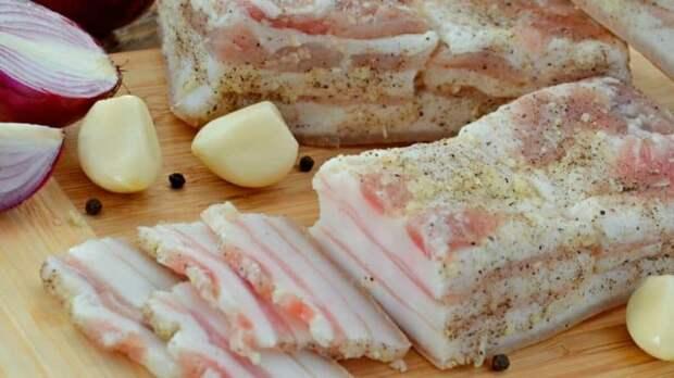 Солёное сало на зиму. Солить по этому рецепту можно и мясо, и даже мясо на косточке 2