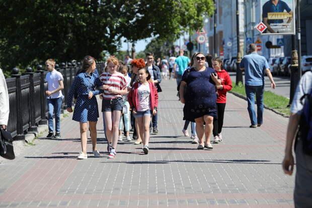 Нижегородцев ждёт теплая рабочая неделя