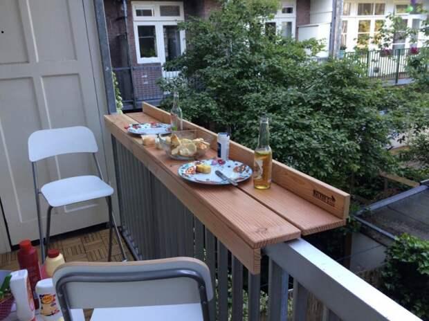 Доработка кухонного балкона