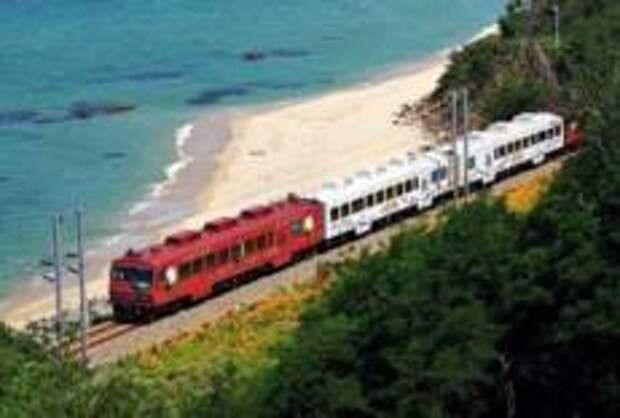 По горам и морям Кореи на туристическом поезде
