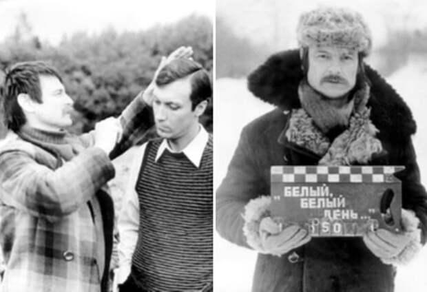 Андрей Тарковский и Олег Янковский на съемках фильма | Фото: mirror.nyrainbow.com
