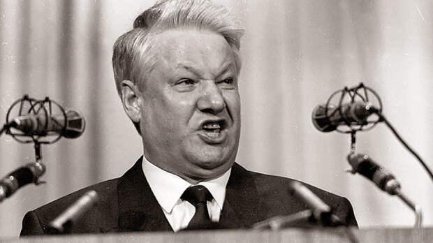 Загогулина Ельцина: Падение в пропасть под чутким руководством США