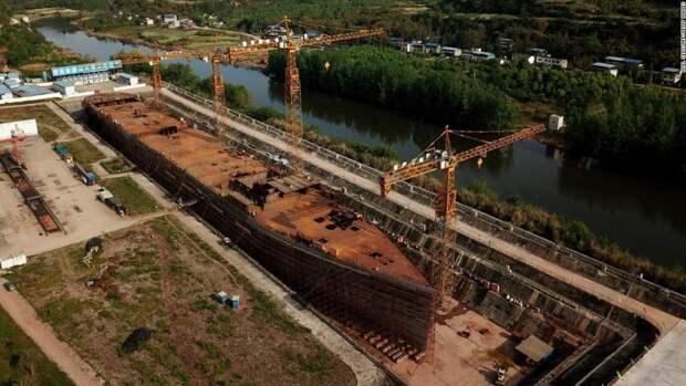 Китайцы построили «непотопляемый» Титаник