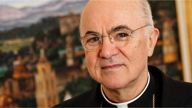 Архиепископ Ватикана пролил свет на природу КОВИД-19 и заговор мировых элит