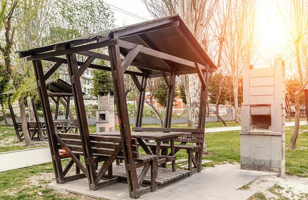 Почем бесплатная беседка? На «Авито» за вознаграждение предлагают заранее занять беседки с мангалом в парках Москвы