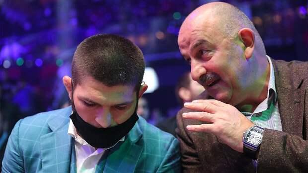 Черчесов поздравил Хабиба с победой на UFC 254: «Мужчина! Ты настоящий сын своего отца»