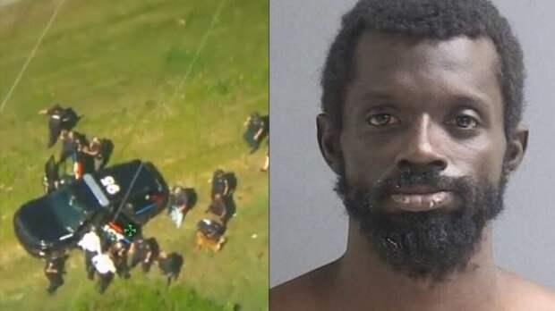 В США преступник смог угнать две полицейские машины подряд за одну погоню (Видео)