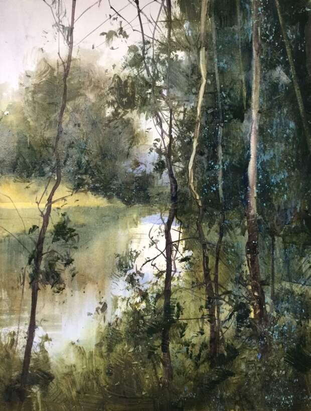 """""""Уезжаю в таинственный лес..."""" Австралийский художник Herman Pekel"""