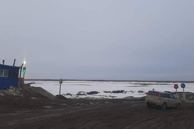 Ледовую переправу Якутск-Нижний Бестях закрыли 19 апреля