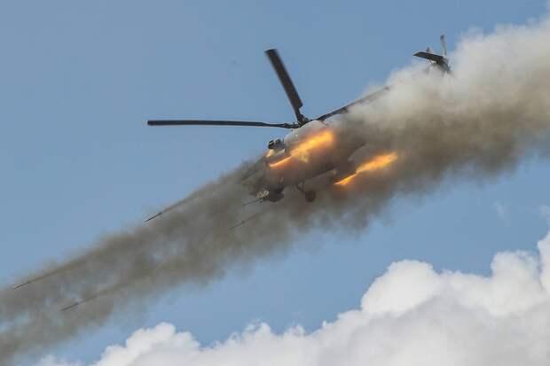 Вертолет Ми-28НМ Гавриил Григоров/ТАСС