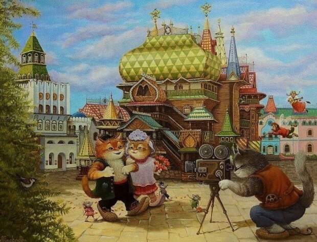 художник Александр Маскаев картины – 37