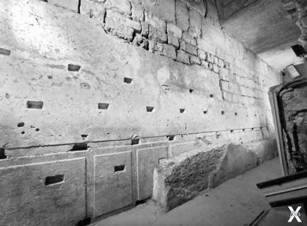 Мегалитические блоки в Иерусалиме