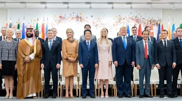 Нежная сакура: Иванка Трамп на саммите G20 (фото 1)