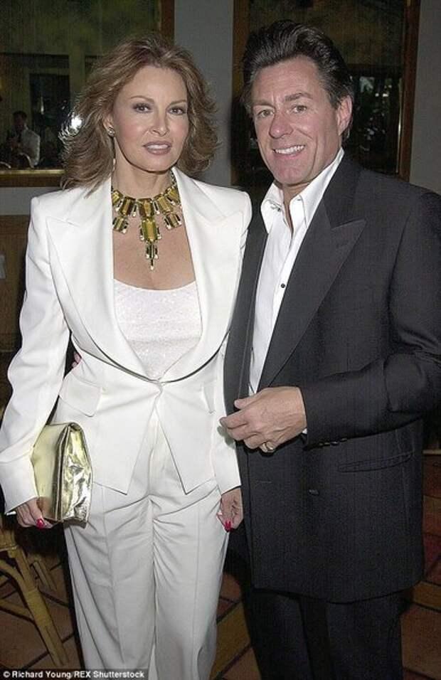 Рэкел и ее последний муж Ричард, который младше на 15 лет.
