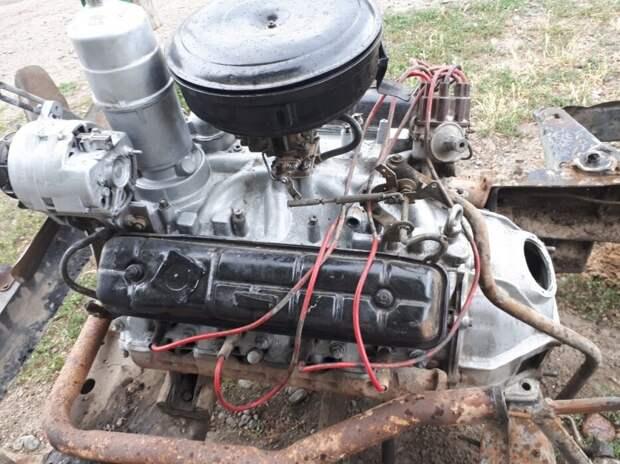 Внук взял у деда старый ГАЗ 53 который простоял 10 лет и сделал из него молоковоз для работы