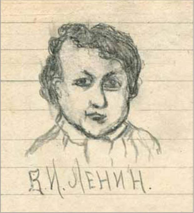 """Портрет №1. """"Маленький Ленин"""" / РГАСПИ"""