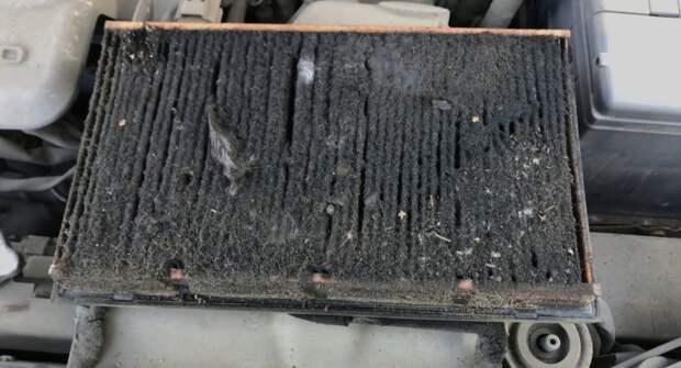 Признаки забитого воздушного фильтра в автомобиле и способ очистки