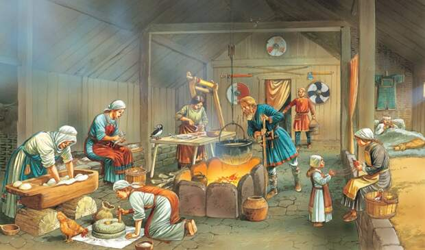 Скандинавы среди первопоселенцев Новгорода по данным археологии