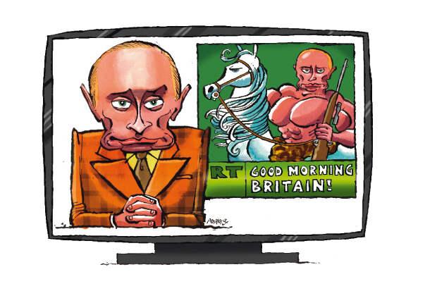 В Великобритании заблокировали все счета Russia Today