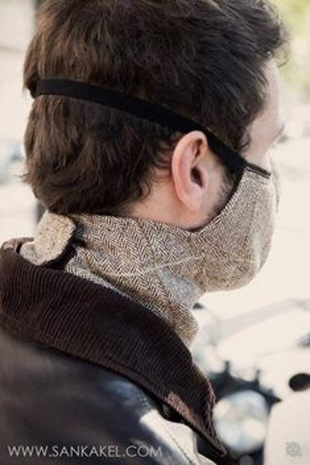 Классная маска от коронавируса своими руками