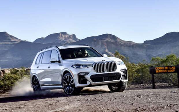 BMW отзывает X7 из-за нераскрывающихся подушек