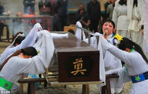 Свадьба мертвецов в Китае