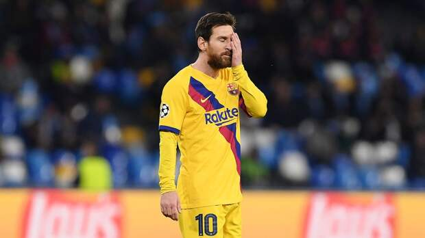 Месси избежал удаления за удар мячом в сторону арбитра матча с «Алавесом»