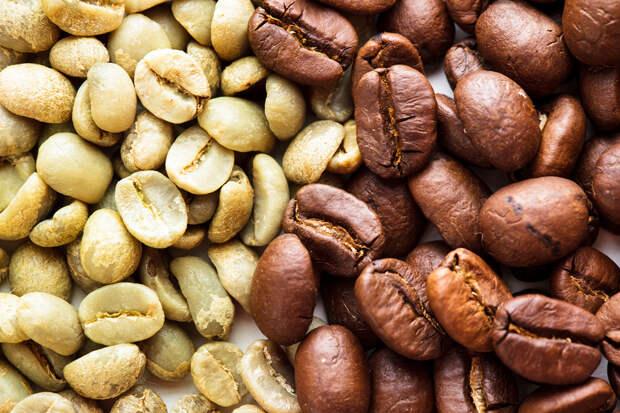 Безалкогольные напитки. Кофейная серия. Зелёный кофе