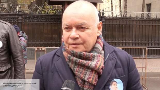 Киселев резко отреагировал на решение экс-главы «Айдара» Мельничука подать в суд на ВГТРК