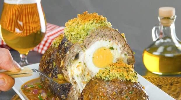 Мясной рулет «Фальшивый заяц»: потрясающая закуска из фарша