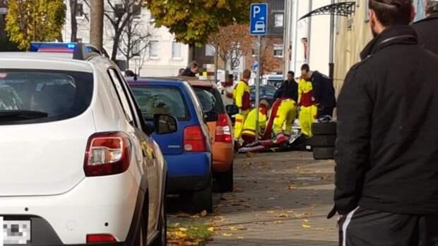 Как три турка избили 10 немецких полицаев