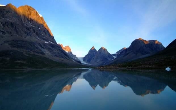 Северо-Восточный Гренландский национальный парк  интересное, мир, национальный парк