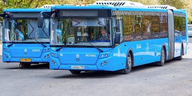 На маршрут в Кузьминках вышли автобусы повышенного комфорта