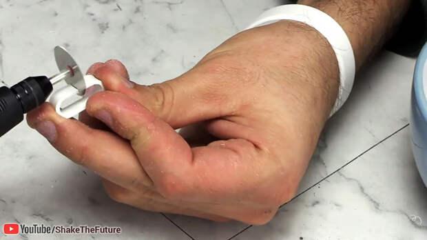 Как сделать цепь из трубы ПВХ