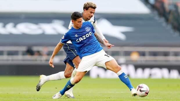 Анчелотти: «Хамес отчаянно хотел играть. «Эвертон» — подходящее место для него»
