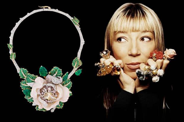 Как первый ювелир дома Dior изменила представление об украшениях: Виктуар де Кастеллан