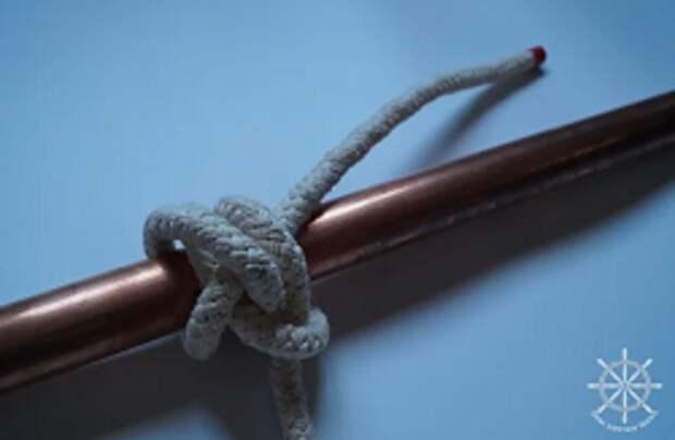 Щучий: самый простой среди затягивающихся узлов