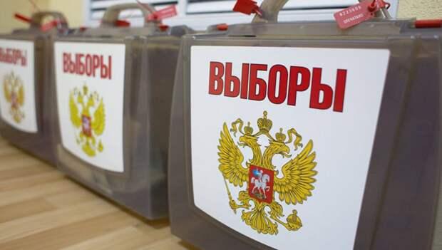 Выборы / фото: Москва. Северо-Запад.