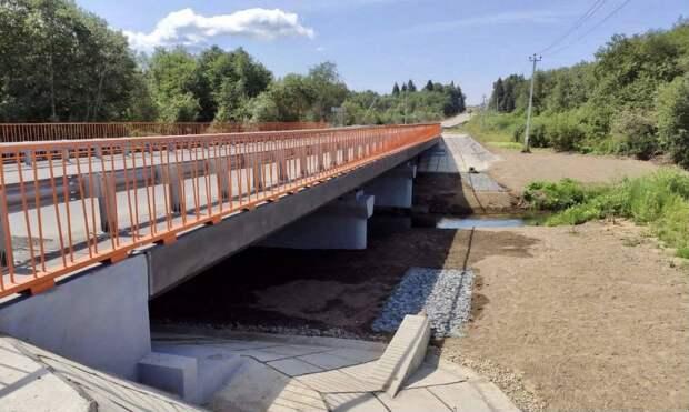 Движение по обновленному мосту через реку Сестру открыли досрочно в Клину