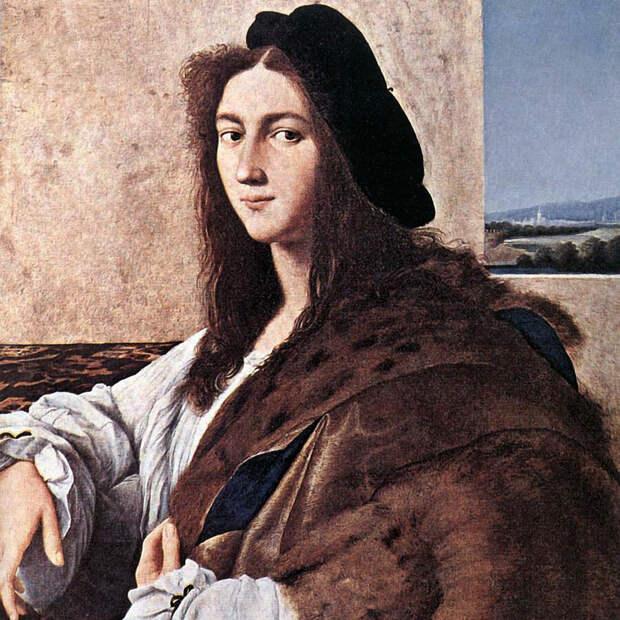 """Оригинальное фотоизображение утраченного """"Портрета молодого человека"""" Рафаэля. Фото Викимедия"""