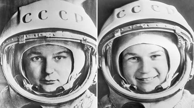 Летчик-космонавт Валентина Терешкова в 1963 году
